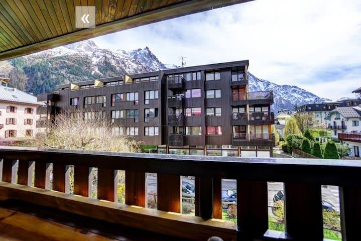 Petit studio lumineux en centre ville de Chamonix - Chamonix-Mont-Blanc - Appartement