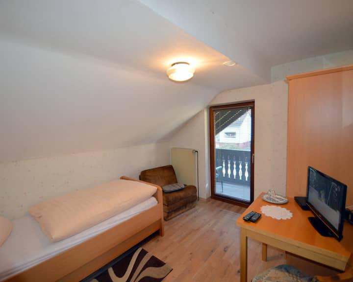 Einzelzimmer Standard im Landgasthaus Waldesruh