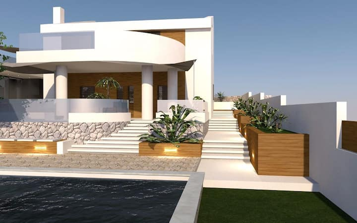 """Villa """"Moses"""" with a private pool"""
