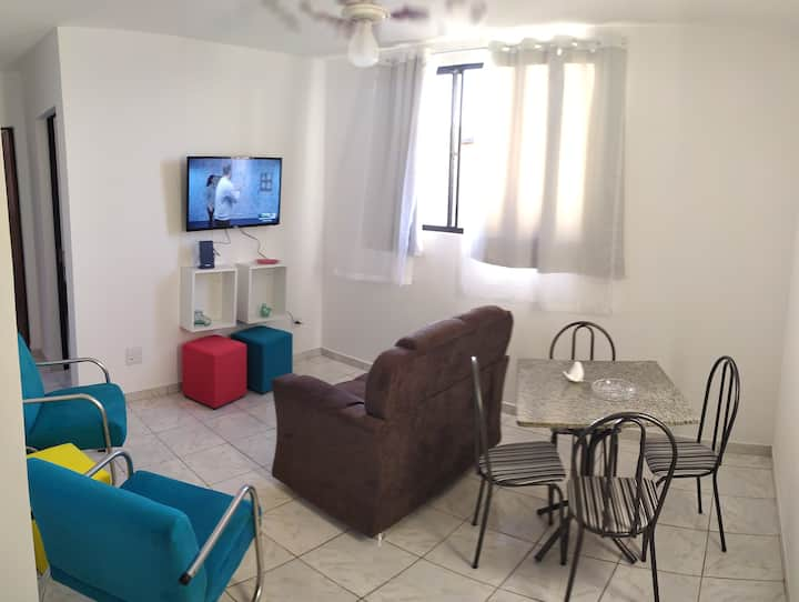 Apartamento bem localizado, confortável e novinho!