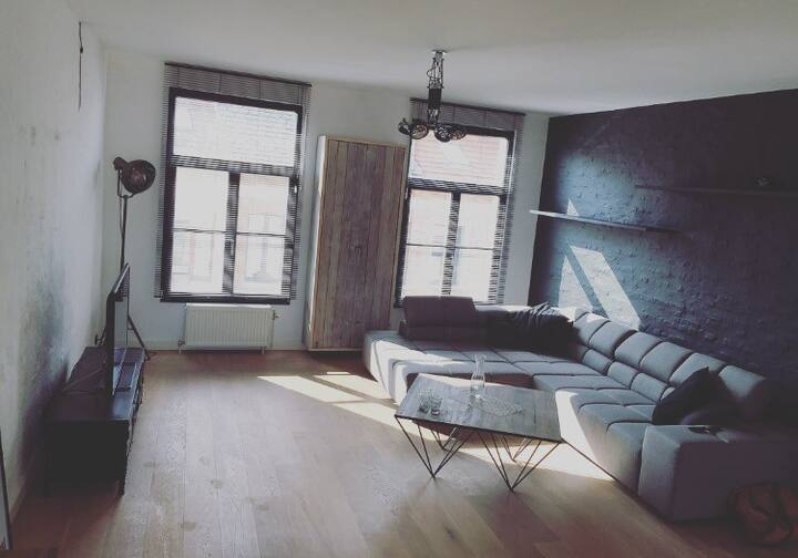 Room in loft/appartment in city centre
