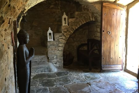 CAN MUSSOL, MASIA SIGLO XIII JUNTO A MONTSERRAT - Sant Vicenç de Castellet - Guesthouse
