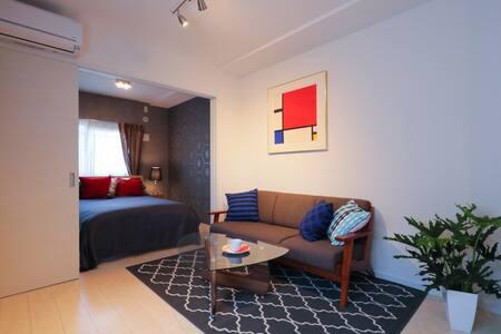 321)세련된 신축 아파트 ★ 4 인실 ★ 공항 근처 ★ WIFI - Fukuoka
