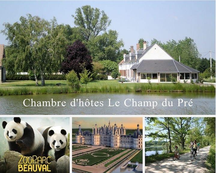 Le Champ du Pré- Proche Zoo de beauval & châteaux
