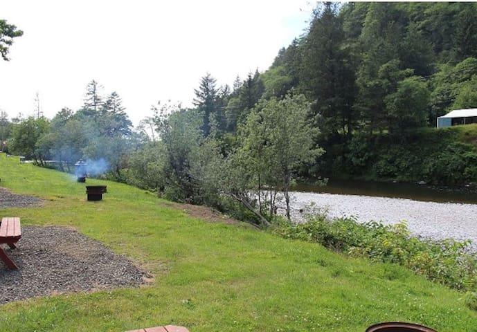 River Front Camper on Wilson River