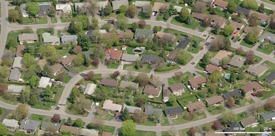 Ottawa bike-friendly house - Ottawa - Talo