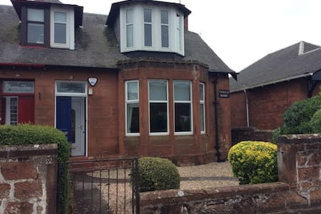Royal Troon Open Golf 2016,centrally located house - Troon - 獨棟