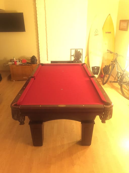 Pool table just delivered in time for your arrival!!