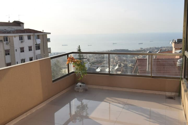 New Apartment with amazing sea view.