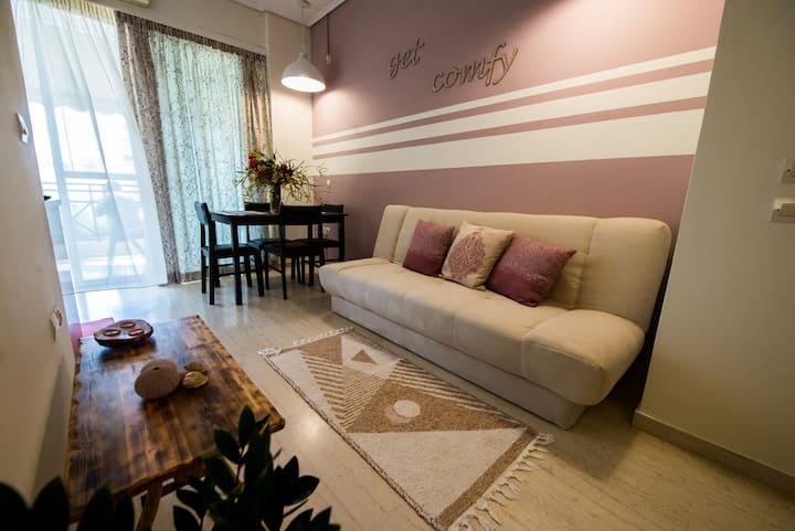 Evie's apartment