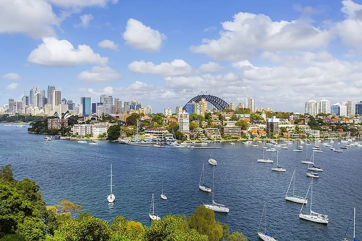 100% Absolute Sydney Harbour Views - Kurraba Point