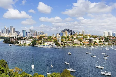 100% Absolute Sydney Harbour Views - Kurraba Point - Apartment