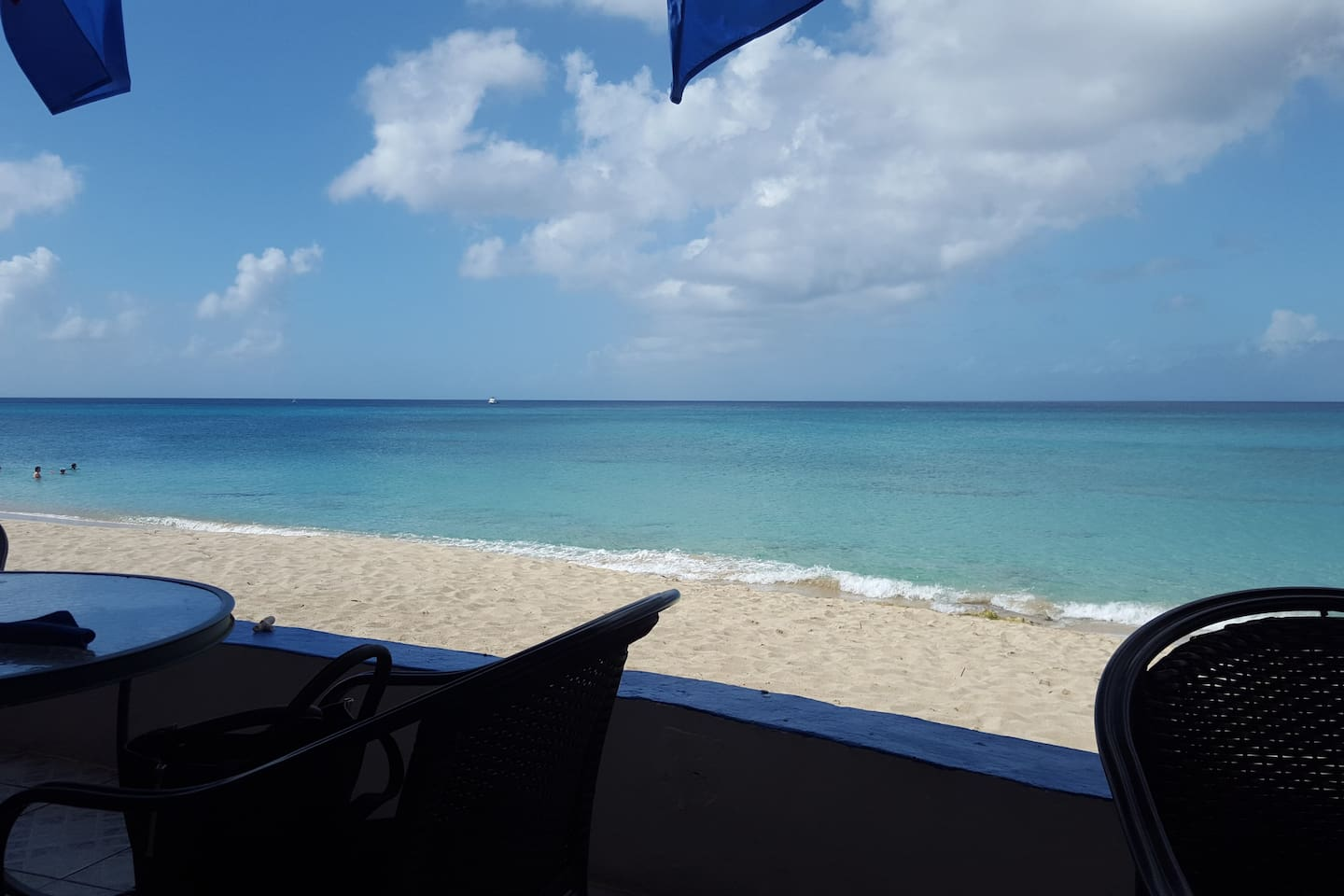 Sand Castle on the Beach restaurant with beautiful view of Dorch beach just 5-8 min drive away!