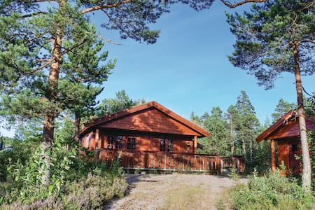 Holiday cottage with 2 bedrooms on 90m² in Åmli