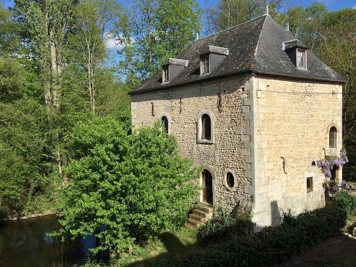 Gite Le Moulin 8 pers piscine et rivière