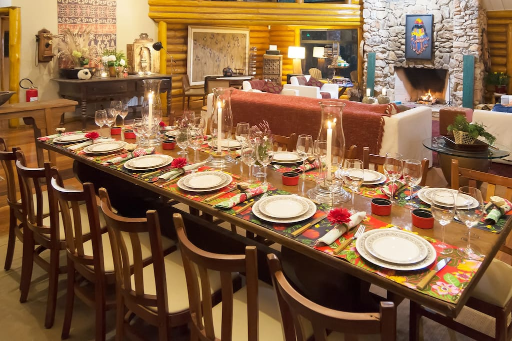 Sala de Jantar para 12 lugares
