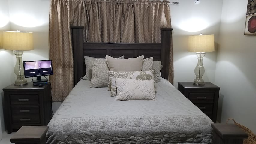 Master Bedroom affixed with security cameras at the front and rear to give you that peace of mind at nights