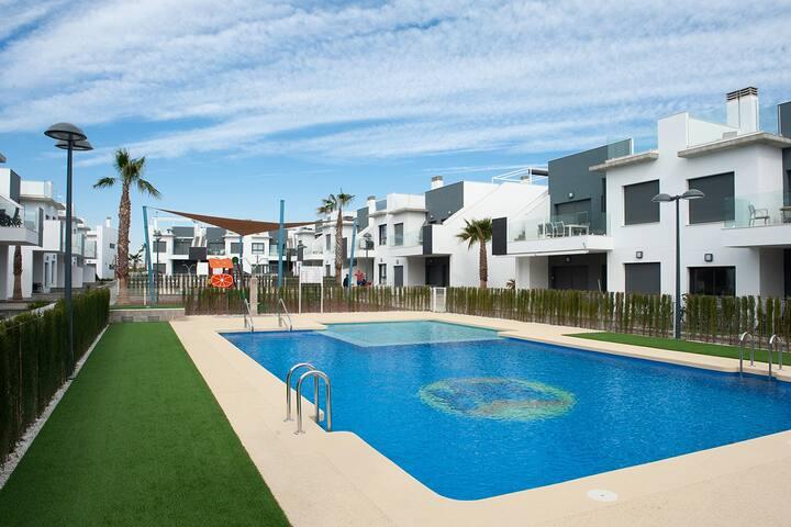 Pilar Dream, appartement neuf avec solarium