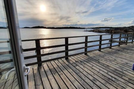 Stuga i killingsholmen, havsutsikt 1 m - havet/bad