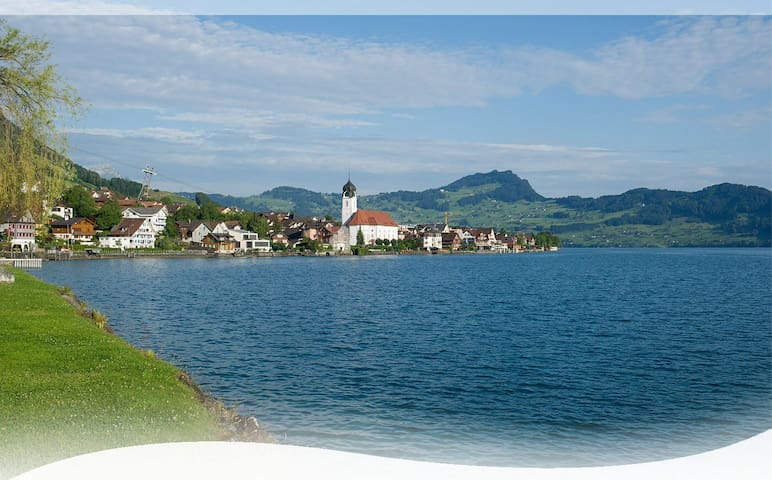 Spacious house close to the Lake of Lucerne - Beckenried - Rumah