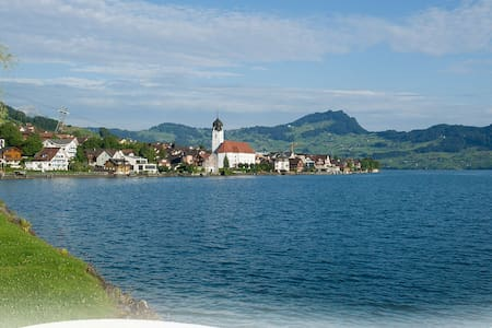 Spacious house close to the Lake of Lucerne - Beckenried