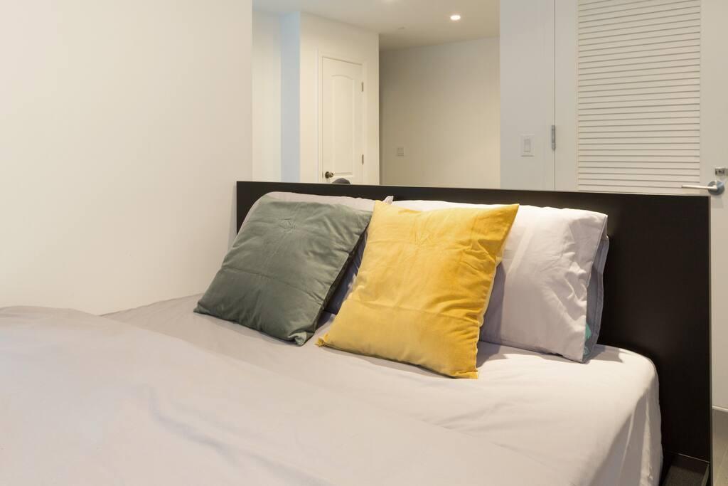 bedding detail