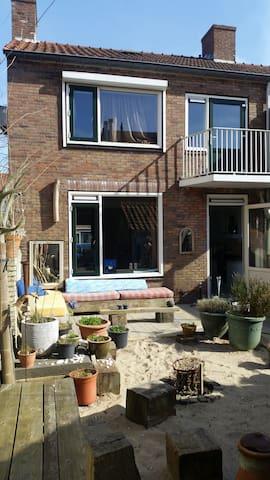 Cosy house with sunny beach garden - Haarlem - Ház