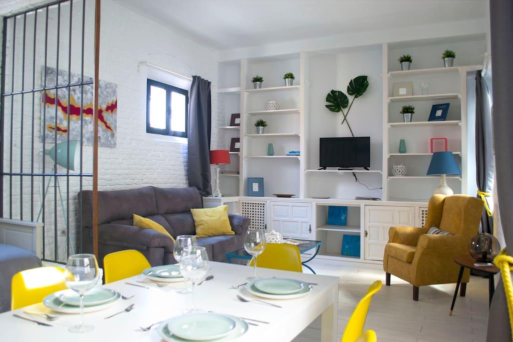 Perfecto y tranquilo alojamiento en el centro wohnungen for Alojamiento barato en sevilla centro