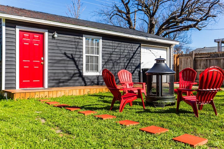 The Red Door Tiny Home of Dallas
