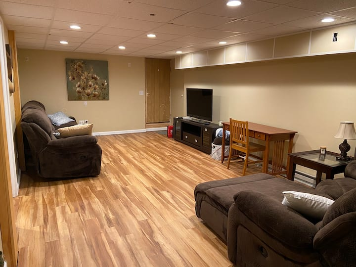 Simple Basement Apartment in Stuarts Draft