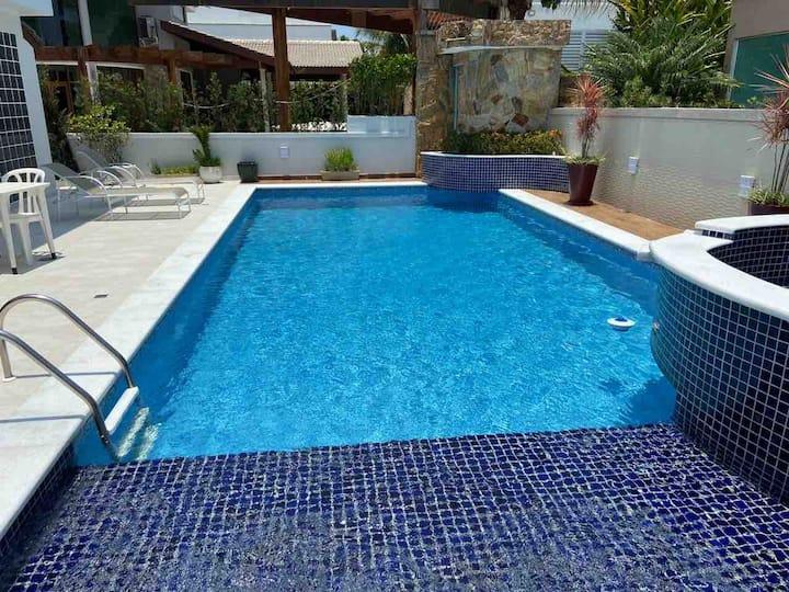 Hanga Roa - casa de luxo com piscina. Lazer Total