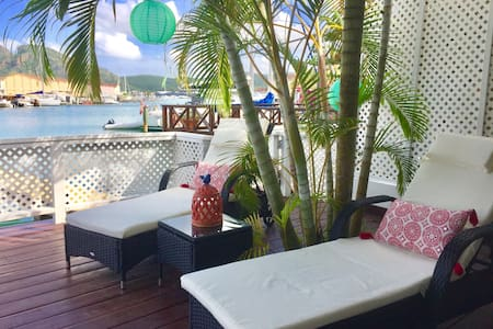 Best location gorgeous 2 bed villa - Jolly Harbour - วิลล่า