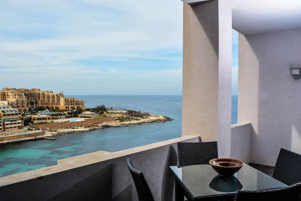 Bayview Apartment With Seaview Apartments For Rent In Saint Julian S Malta