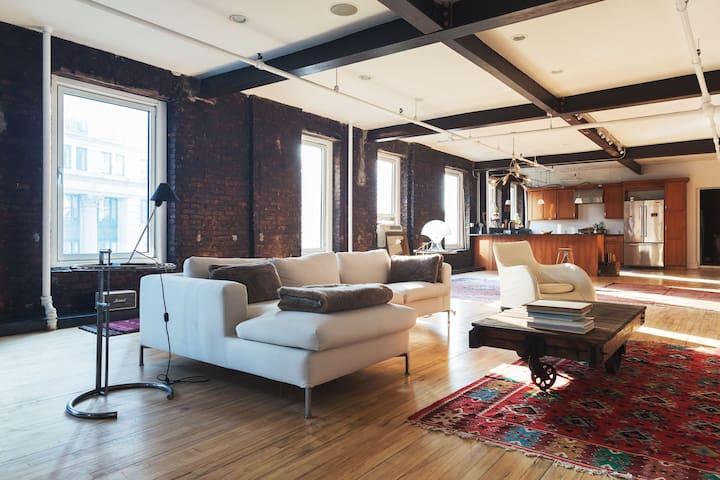 soho 2 bedroom industrial loft loft in affitto a new
