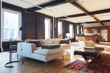 SOHO 2+ BEDROOM INDUSTRIAL LOFT - New York - Loft