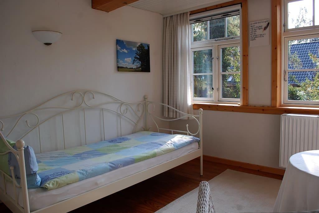 Giebelzimmer - Einzelbett