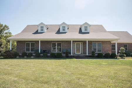 Oryx Farm, 4,000 square foot home on 12 acres