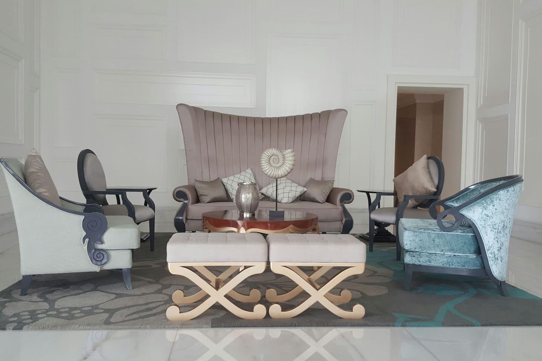 Modern and lavish decorated Lobby