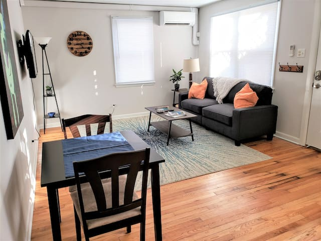 Dog Friendly/Gated Yard Close to Downtown Mall