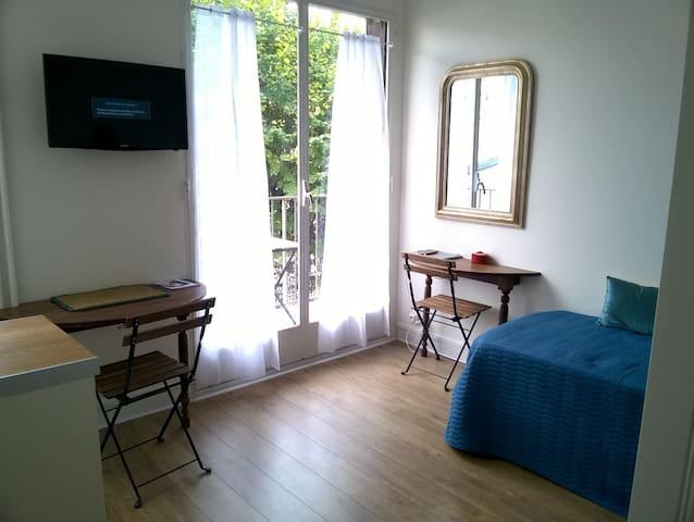 Quiet Studio in Unique Paris Location
