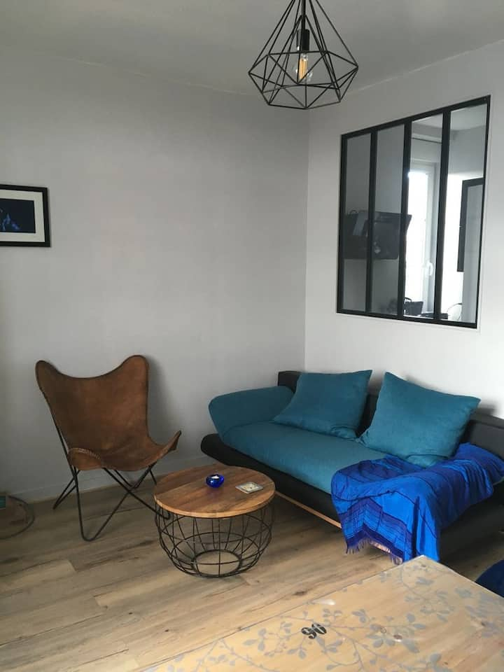 Bagnoles de l'Ornes: appartement 2 pièces rénové