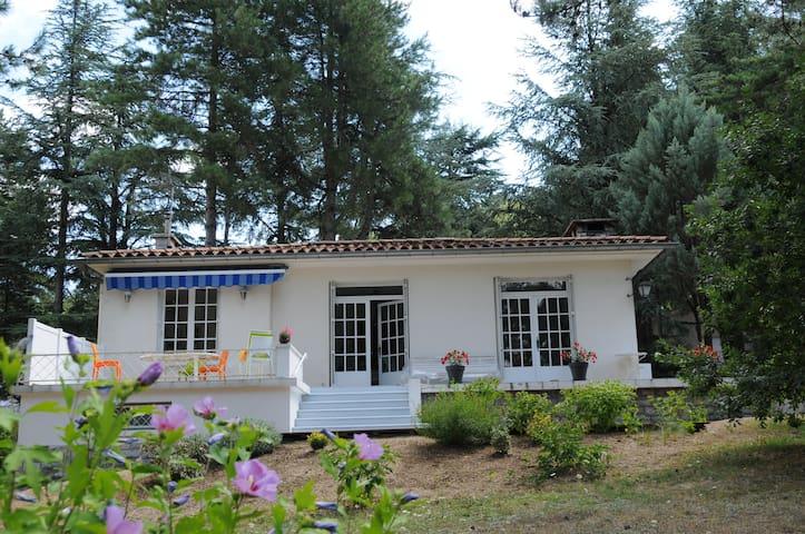 Bassin St Férreol : maison de vacances avec vue