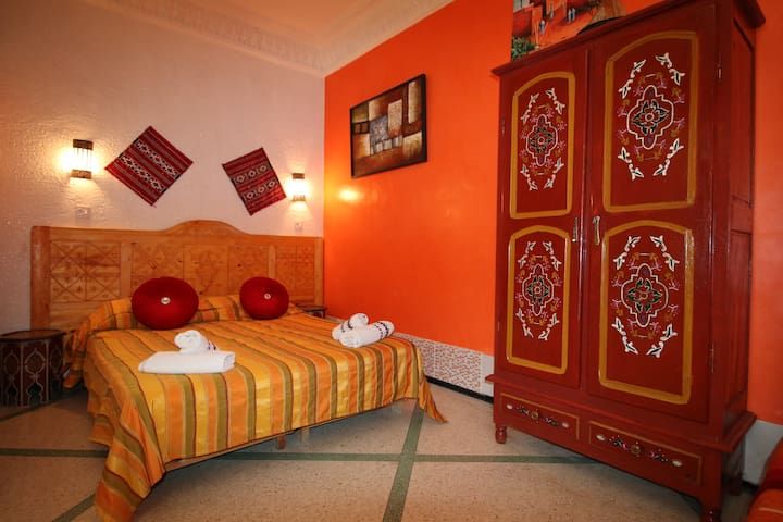 Riad les chtis d'Agadir Chambre Fleur d'Oranger