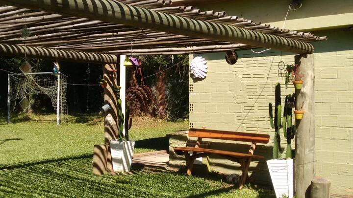 Sitio Recanto do Sol. Relaxe e descanse da rotina.