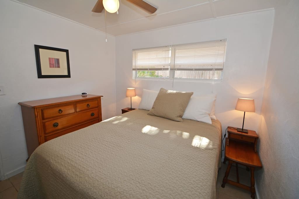 Master Bedroom with Euro-Gel Pillow-top Bed
