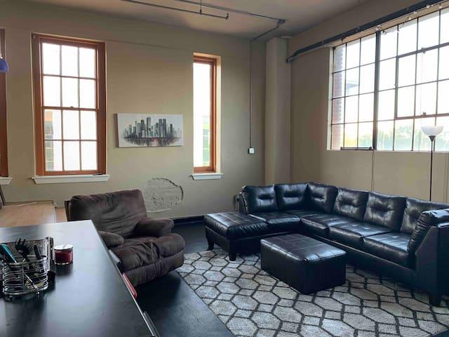 Studio Loft in Downtown Little Rock Rivermarket
