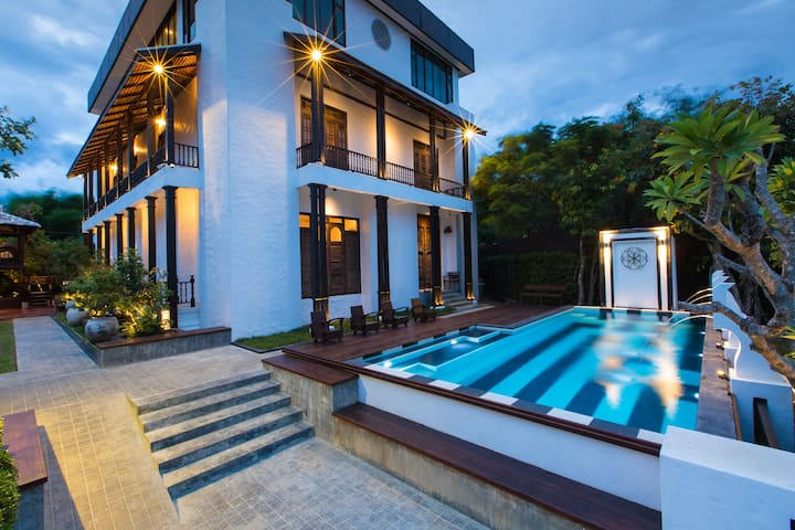 """A Unique Stay & Experience at """"KJORN"""" Pool Villa"""