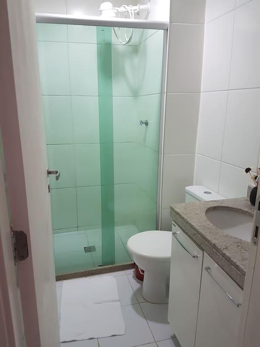 Banheiro Privado todo equipado