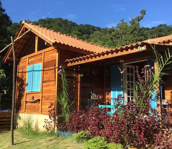 Chalé da Lagoa - Sítio em Secretário (Petrópolis)