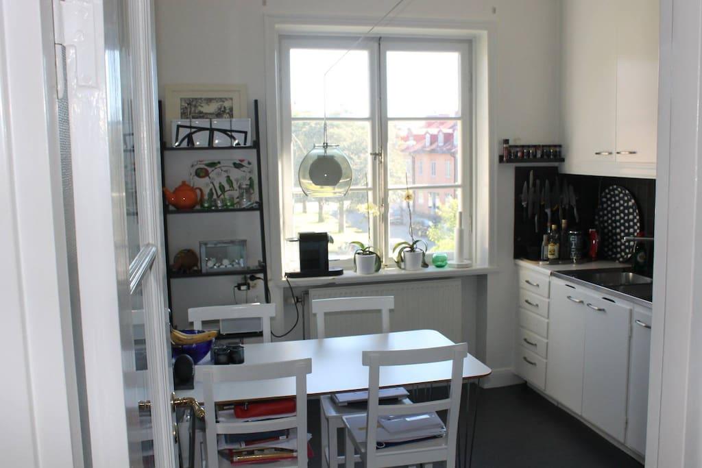 Kitchen, 4 seated